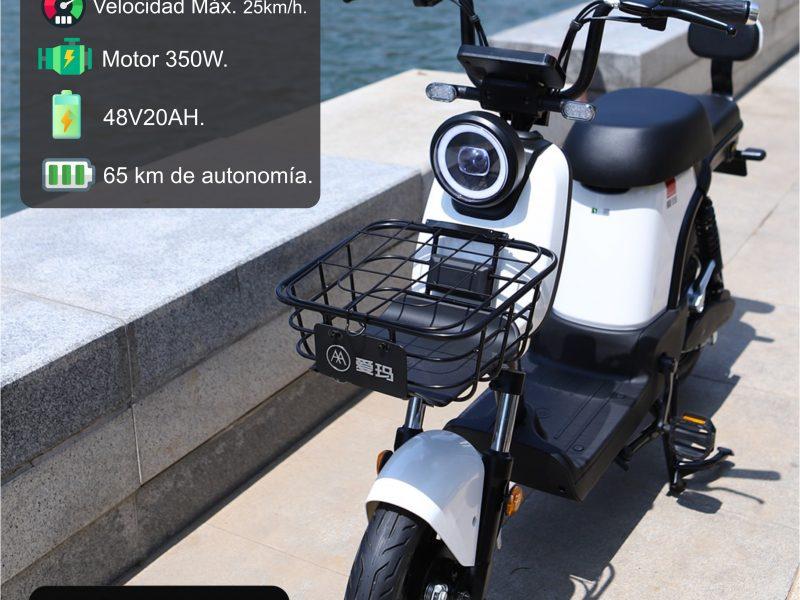 e350 blanco scaled AIMA Peru - Motos Electricas Peru