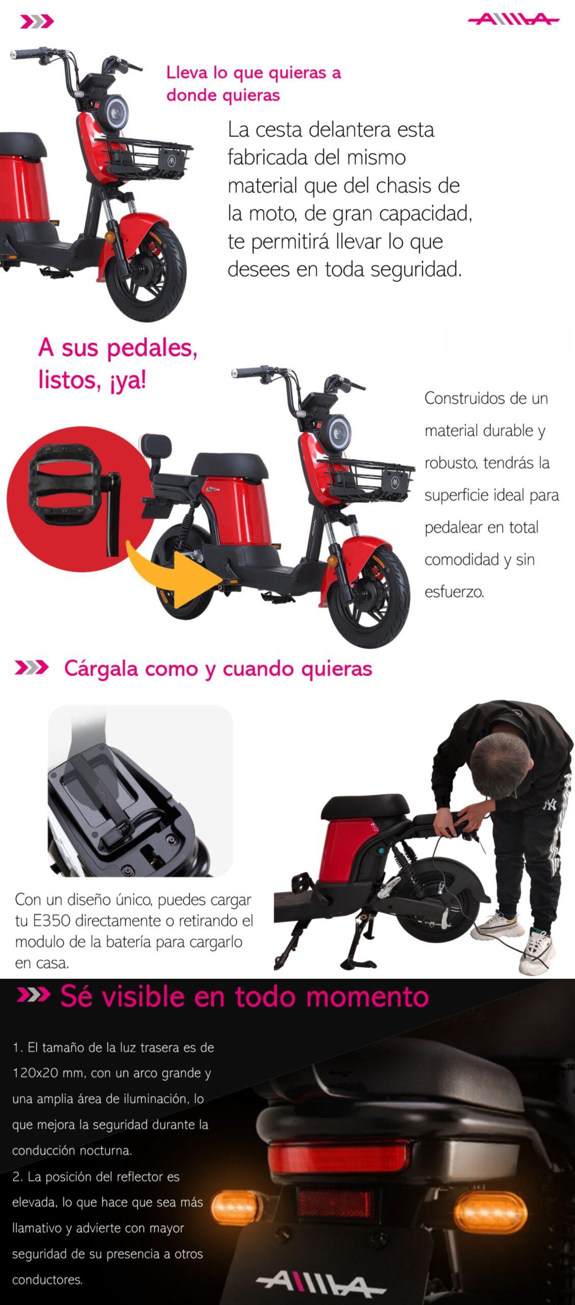 e350 todo scaled AIMA Peru - Motos Electricas Peru