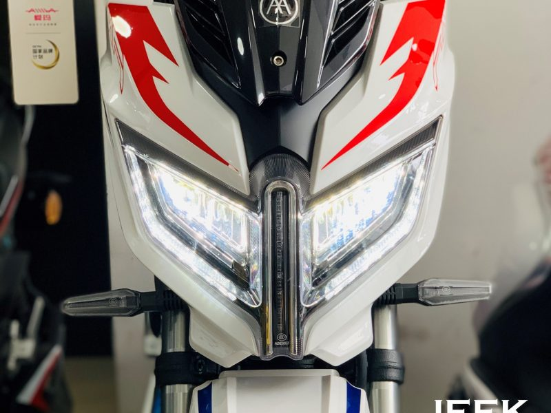 jeek x300 luces 1 scaled AIMA Peru - Motos Electricas Peru