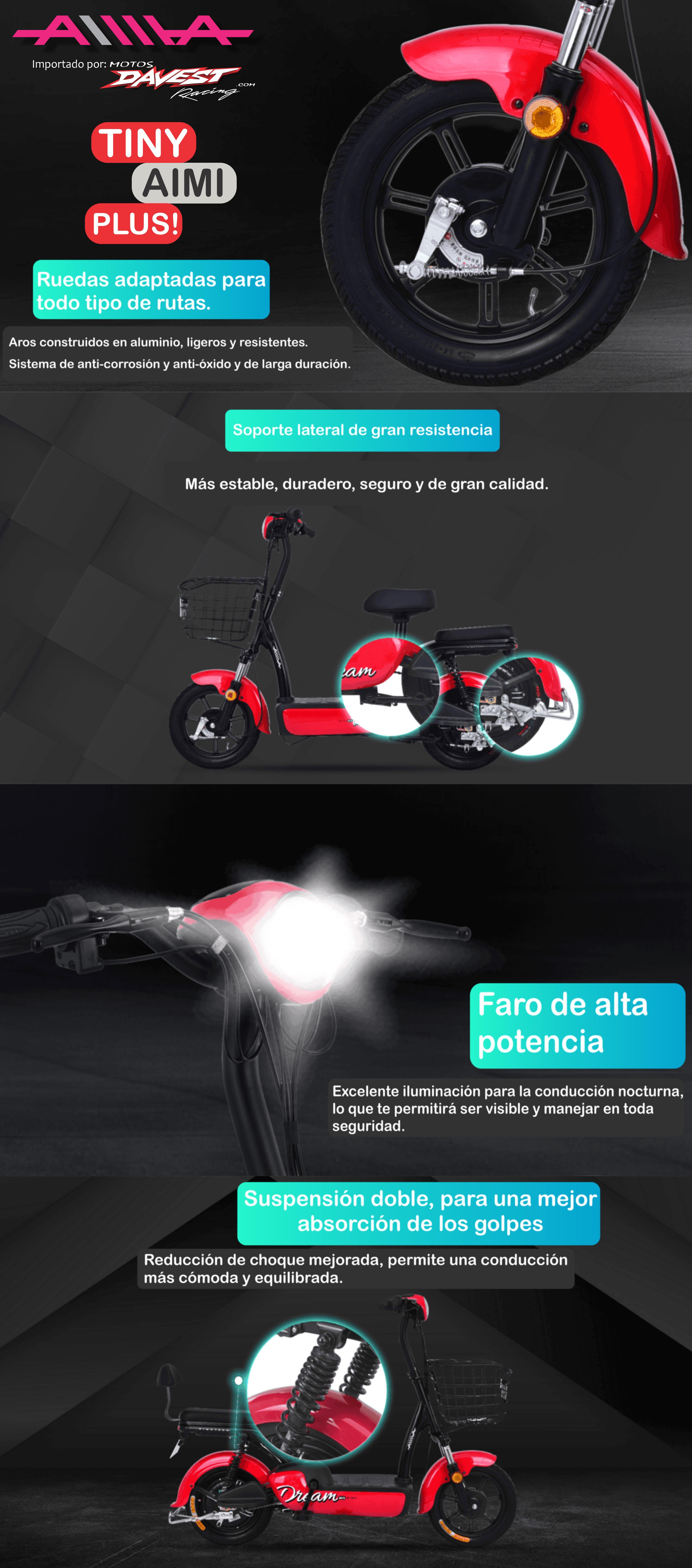 tiny aimi plus wp 1 AIMA Peru - Motos Electricas Peru