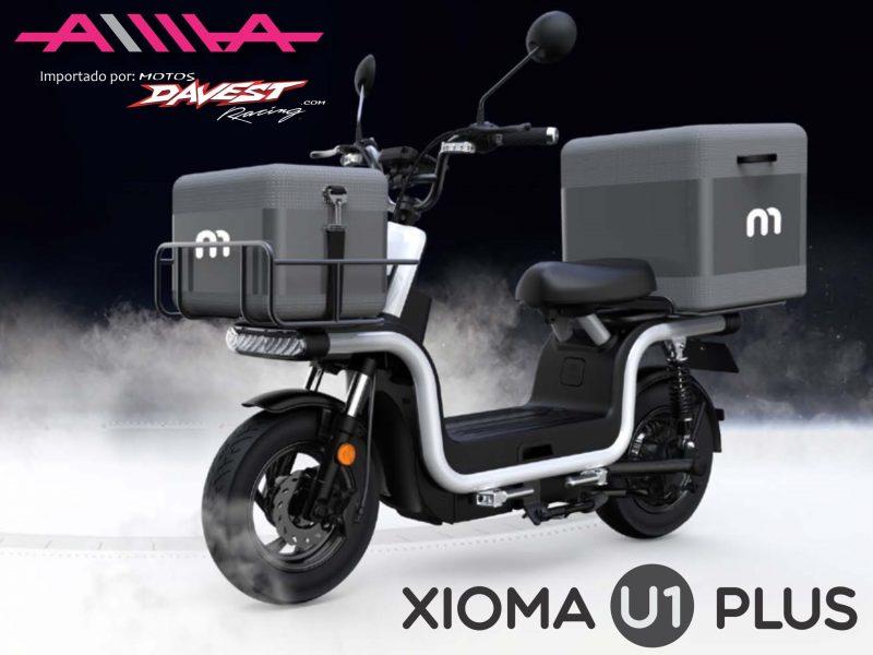 1 XiomaU1Plus blanca scaled AIMA Peru - Motos Electricas Peru