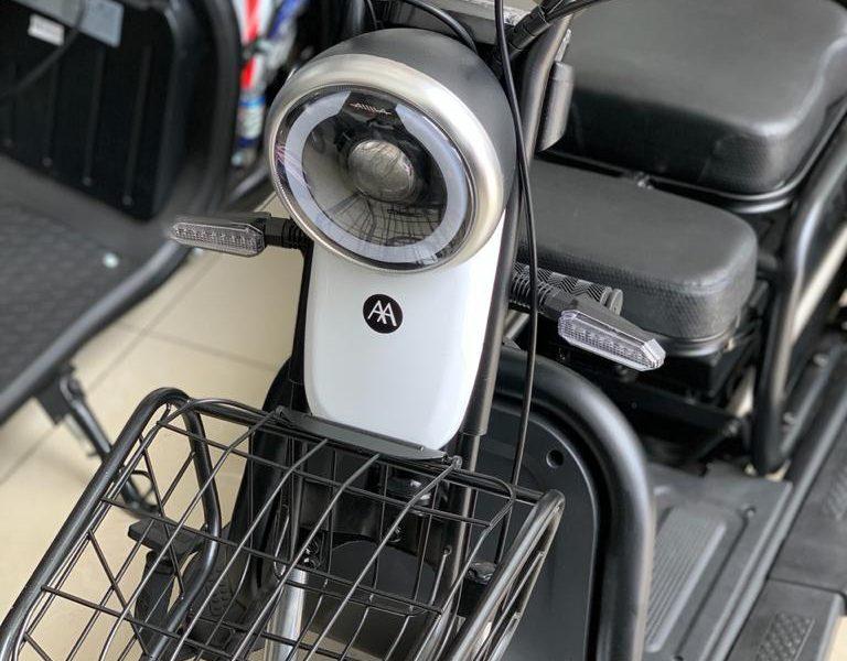 8 MIQI Blanca AIMA Peru - Motos Electricas Peru